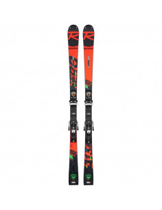 Pack Neuf Rossignol Hero Athlete SL FIS 2021 Taille 157cm + Fix Look Spx 12 Rockerace R22 Accueil