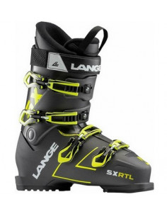 Chaussures de ski Neuves Lange SX RTL Anthracite Yellow 2019 Taille 26.5 Mondopoint Home