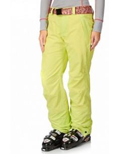 Pantalon de ski femme Oneill Star Pant Lime Home