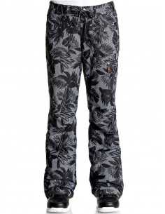 Pantalon de ski femme Roxy Rifter Printed Flowers Black Taille XS Accueil