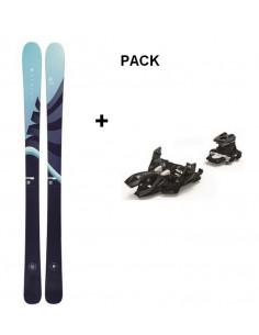 Pack Ski de Randonnée Armada Victa 87ti 2021 Taille 171cm + Fix Marker Alpinist 10 Home