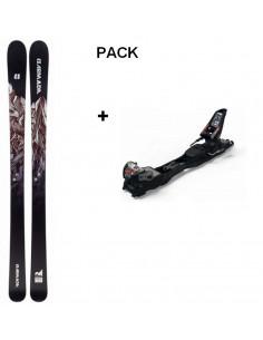 Pack Ski de Freerando Armada Invictus 95 2020 Taille 176cm, 185cm + Fix Freerando Marker F12 Home