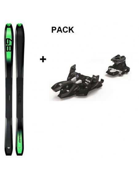 Pack Ski de Randonnée Dynafit Carbonio 89 2020 Taille 165cm + Fix Marker Alpinist 10 Home