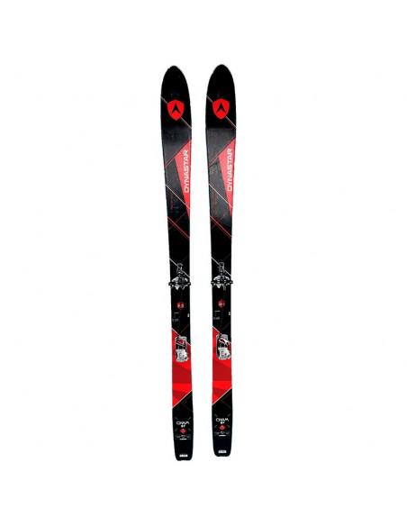 Pack Ski de Randonnée Occasion Dynastar Cham 87 + Fix Plum Guide 12 + Peaux Taille 178cm Accueil