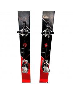 Pack Ski de Randonnée Occasion Dynastar Cham 87 + Fix Plum Guide 12 + Peaux Taille 178cm Home