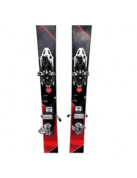 Pack Ski de Randonnée Occasion Dynastar Cham 87 + Fix Look Hm 10 Demo + Peaux Home
