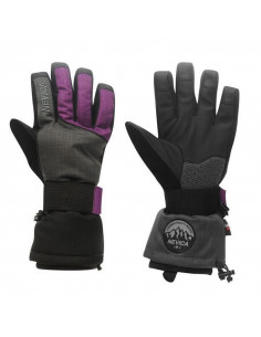 Gants de Ski Femme Nevica Boost Glove Black Purple Taille L Home