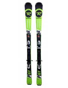 Ski Test Rossignol Pursuit GT 2019 + Fixations Look XPRESS 11 Taille 156cm Home