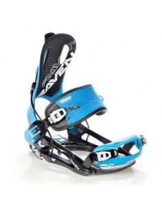 Fixations de snowboard Systeme Flow Raven FT270 Black Blue Taille L(43 à 46), XL(44 à 47) Accueil