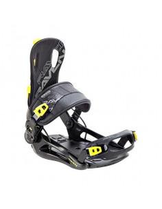 Fixations de snowboard Systeme Flow Raven FT270 Lemon Taille M(39 à 42), L(43 à 46), XL(44 à 47) Accueil