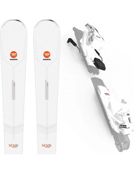 Rossignol Nova 2 2020 + Look XPRESS 10 GW Taille 144cm, 152cm, 160cm Home