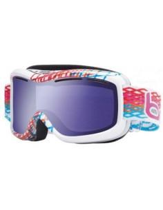 Masque de ski Bollé Monarch White Diamond Aurora Catégorie 1 Temps mauvais Accueil